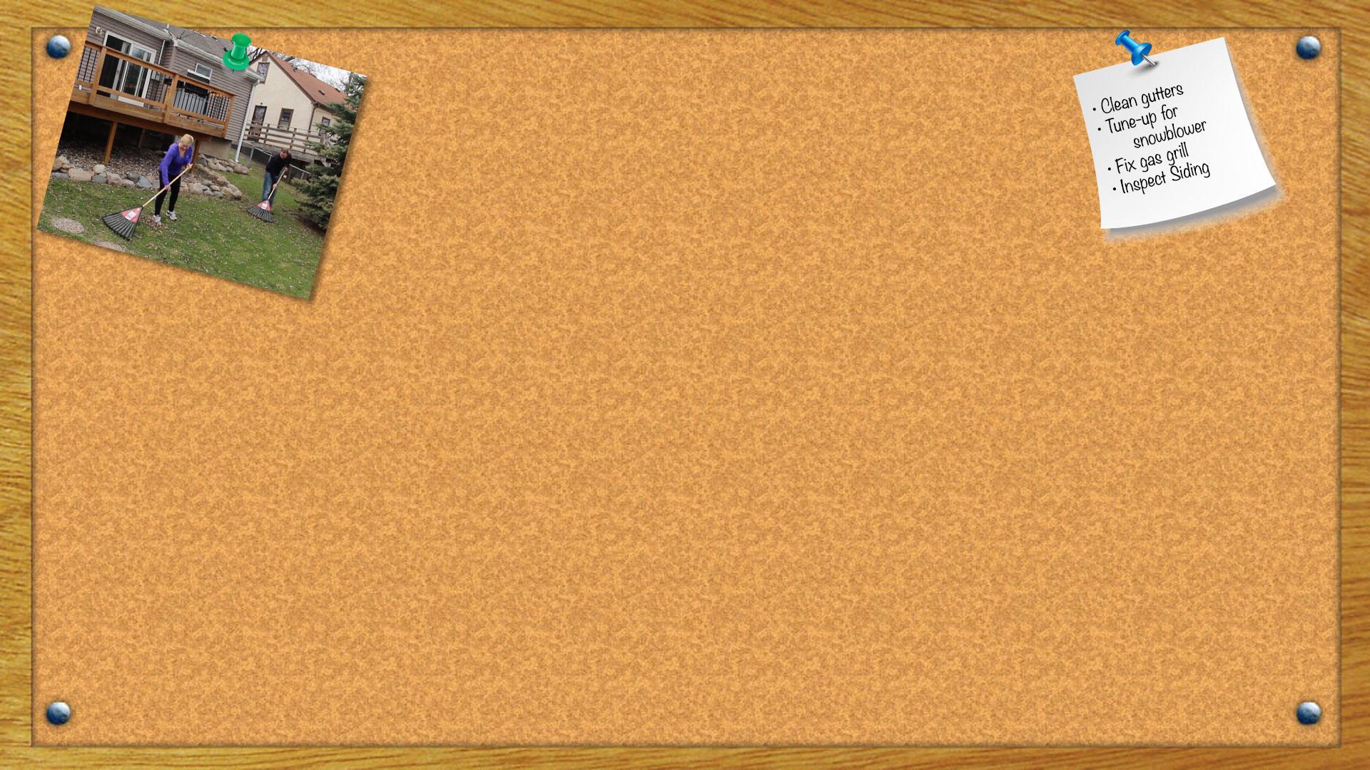 framed cork board ba